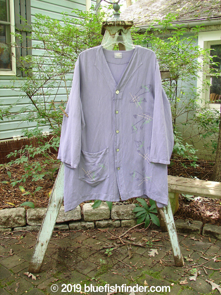 Vintage Blue Fish Clothing 2000 Café Top Space Twilight Size 2- Bluefishfinder.com