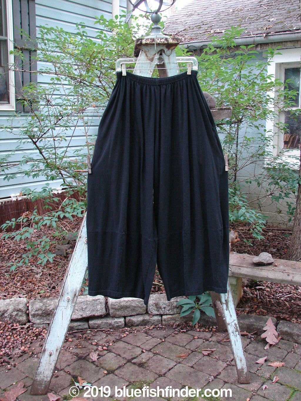 Vintage Blue Fish Clothing Barclay 4 Square Pant Black Size 1- Bluefishfinder.com