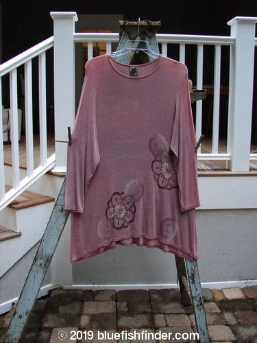 Vintage Blue Fish Clothing 1999 Camillia Top Giant Floral Rosetta Size 2- Bluefishfinder.com
