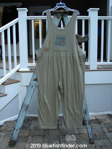 Vintage Blue Fish Clothing 1996 Garden Overall Single Bulb Seed Size 2- Bluefishfinder.com