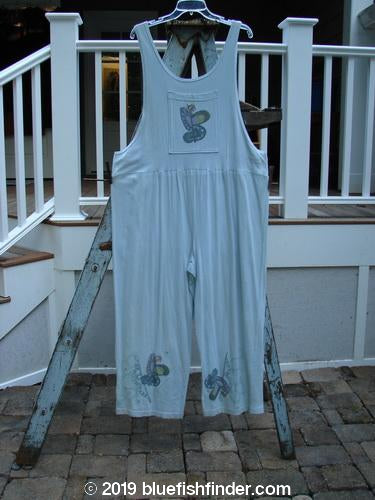 Vintage Blue Fish Clothing 1996 Garden Overall Curl Road Flight Size 1- Bluefishfinder.com