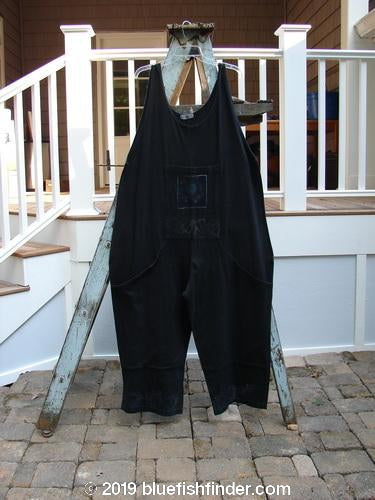 Vintage Blue Fish Clothing 1995 Farmer Brown Overall Single Flower Briquette OSFA- Bluefishfinder.com