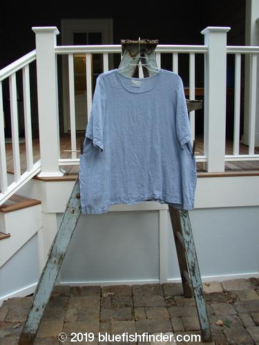 Vintage Blue Fish Clothing 1999 Linen Tea Top Stream Size 1- Bluefishfinder.com