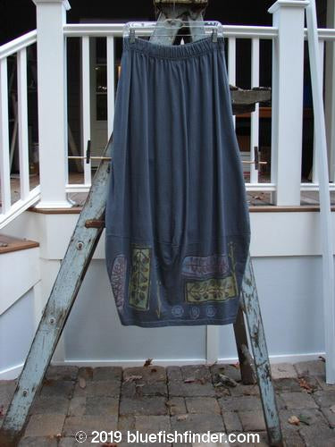 Vintage Blue Fish Clothing 1993 4 Square Skirt Fern Metal Size 2- Bluefishfinder.com