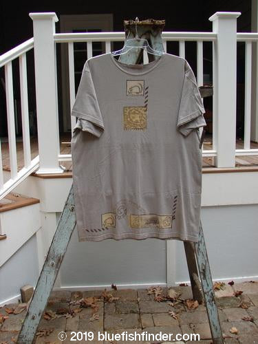 Vintage Blue Fish Clothing 1995 Tunic Tee Mouse Sky Song OSFA- Bluefishfinder.com