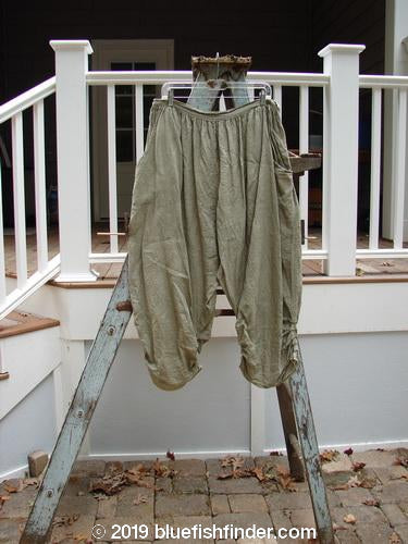 Vintage Blue Fish Clothing Magnolia Pearl Linen Gather Bottom Bloomer Green Wheat OS- Bluefishfinder.com