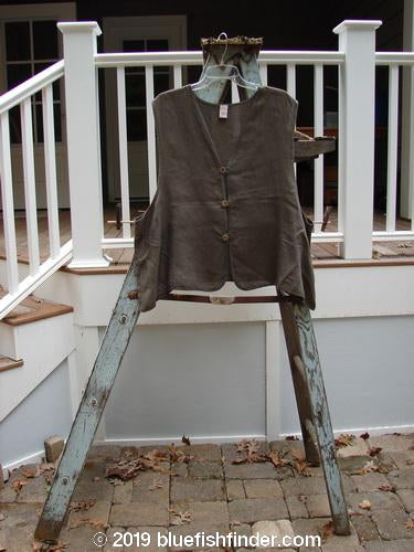 Vintage Blue Fish Clothing Barclay Edge Of The World Vest Unpainted Mortar Size 1- Bluefishfinder.com