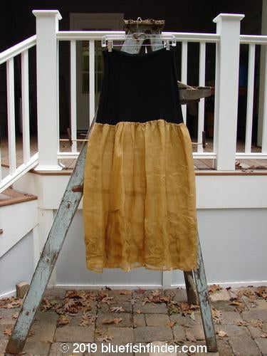 Vintage Blue Fish Clothing 2000 Organza Aios Dana Skirt Bone Size 0- Bluefishfinder.com