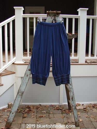Vintage Blue Fish Clothing Barclay Thermal Magic Cuff Pant Stripe Navy Size 0- Bluefishfinder.com