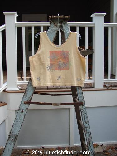 Vintage Blue Fish Clothing 1997 Crop Tank Sea Urchin Dawn Size 1- Bluefishfinder.com