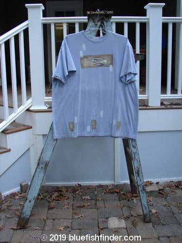 Vintage Blue Fish Clothing 1999 Short Sleeved Tee Catfish Bluebell Size 2- Bluefishfinder.com