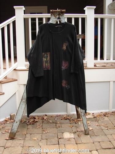 Vintage Blue Fish Clothing 1997 Bengali Jacket Abstract Obsidian Size 2- Bluefishfinder.com