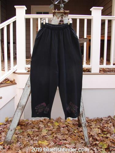 Vintage Blue Fish Clothing 1995 Fitzgerald Pant Ship Travel Black Size 2- Bluefishfinder.com