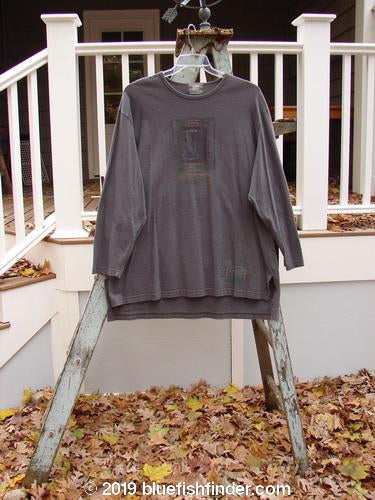 Vintage Blue Fish Clothing 1999 Long Sleeved Vented Tee Wheat Walkway Olive Grey Size 2- Bluefishfinder.com