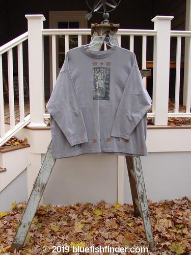 Vintage Blue Fish Clothing 1995 Long Sleeved Tee Celebrate Silvermoon Size 2- Bluefishfinder.com