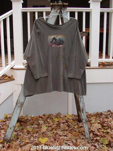 Vintage Blue Fish Clothing 1994 Haiku Top Celestial Raku OSFA- Bluefishfinder.com