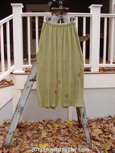 Vintage Blue Fish Clothing 1997 Thermal Voyager Excursion Skirt Flower Pear Size 1- Bluefishfinder.com