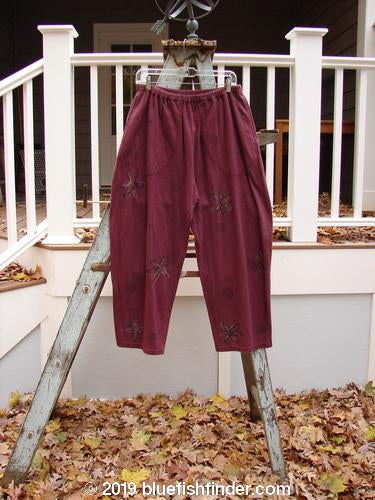 Vintage Blue Fish Clothing 1993 Resort Crossroad Pant Star Woodberry Size 1- Bluefishfinder.com