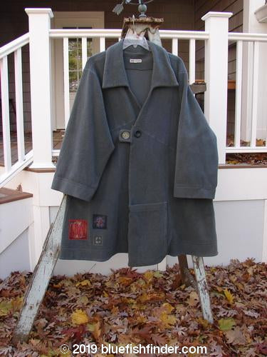Vintage Blue Fish Clothing Barclay Patched Celtic Moss Highlander Coat Moss Green Size 1- Bluefishfinder.com