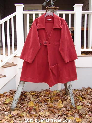 Vintage Blue Fish Clothing Barclay Celtic Moss Highlander Coat Sienna Size 1- Bluefishfinder.com