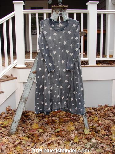Vintage Blue Fish Clothing Magnolia Pearl Cotton Distressed Long Sleeved Star Dress OSFA- Bluefishfinder.com