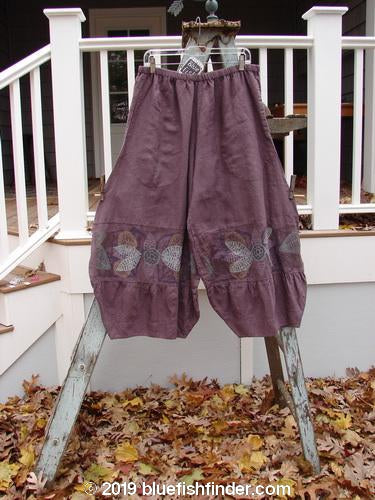 Vintage Blue Fish Clothing Barclay NWT Meadow Pant Giant Floral Flint Size 2- Bluefishfinder.com