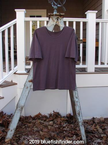 Vintage Blue Fish Clothing 1993 Resort Blueline Short Sleeved Tunic Tee Daily Special Plum Size 1- Bluefishfinder.com