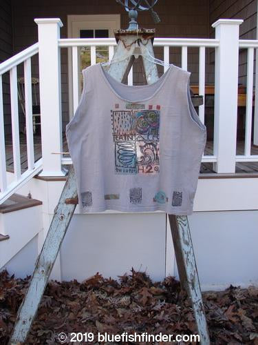 Vintage Blue Fish Clothing 1992 Oversized Tank Elements Cloud OSFA- Bluefishfinder.com