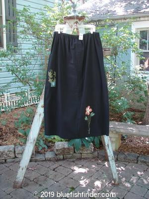 Vintage Blue Fish Clothing 2000 NWT Parachute Big Pocket Skirt Floral Black Size 2- Bluefishfinder.com