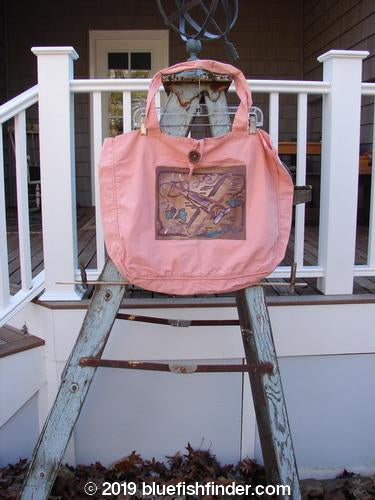 Vintage Blue Fish Clothing 2001 Button Tote Airplane Glow One Size- Bluefishfinder.com