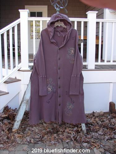 Vintage Blue Fish Clothing 1995 Thermal West Wind Coat Butterfly Currant Size 1- Bluefishfinder.com