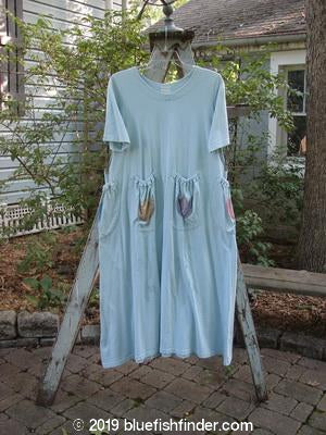 Vintage Blue Fish Clothing 1999 Rambler Dress Tulips Mint Size 0- Bluefishfinder.com