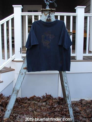 Vintage Blue Fish Clothing 1994 Short Sleeved Tee Bouquet Black Size 4- Bluefishfinder.com