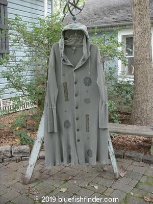Vintage Blue Fish Clothing 1995 West Wind Coat Bar Flower Greenwear Size 1- Bluefishfinder.com