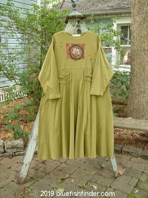 Vintage Blue Fish Clothing 1997 Caryatid Dress Centered Lantern Size 2- Bluefishfinder.com