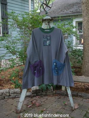 Vintage Blue Fish Clothing 1997 Mosaic Top Cityscape Granite Size 2- Bluefishfinder.com