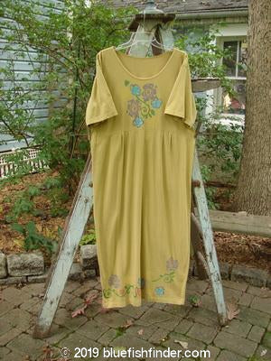 Vintage Blue Fish Clothing 1992 Long Storma Dress Flower Bundle Camino OSFA- Bluefishfinder.com