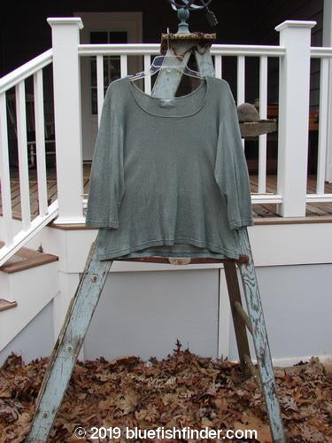 Vintage Blue Fish Clothing 2000 Litmus Round Neck Top Puddle Size 2- Bluefishfinder.com