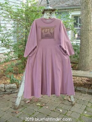 Vintage Blue Fish Clothing 1997 Storyteller's Dress Elephant Rosewater Size 1- Bluefishfinder.com