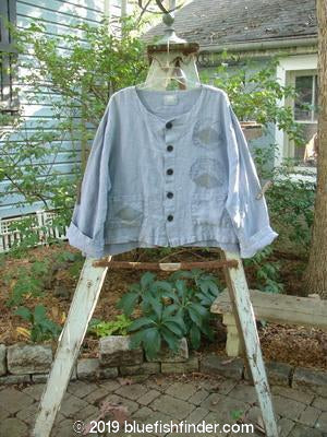 Vintage Blue Fish Clothing 1999 Hemp Crop Jacket Culture Bluestone Size 1- Bluefishfinder.com