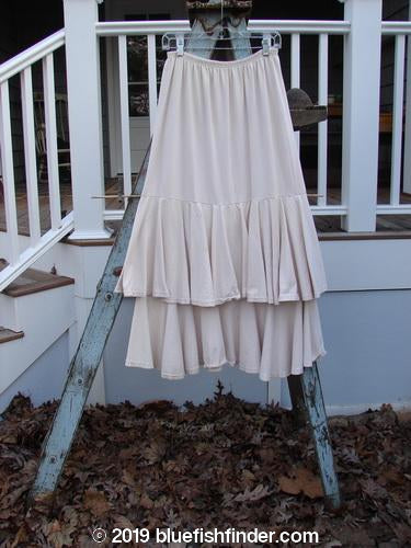 Vintage Blue Fish Clothing 1993 Two Story Skirt Unpainted Tea Dye Size 2- Bluefishfinder.com