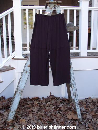 Vintage Blue Fish Clothing 2000 NWT Rayon Lycra Rib Quadrant Pant Cassis Heather Size 0- Bluefishfinder.com