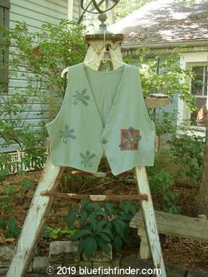 Vintage Blue Fish Clothing 1996 Simple Vest Daisy Power Trinket OSFA- Bluefishfinder.com