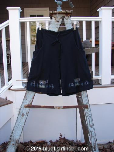 Vintage Blue Fish Clothing 2000 Bushel Short Travel Black Size 0- Bluefishfinder.com