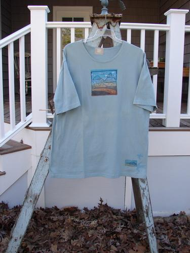 Vintage Blue Fish Clothing 2000 Short Sleeved Tee Scenic Water Size 1- Bluefishfinder.com