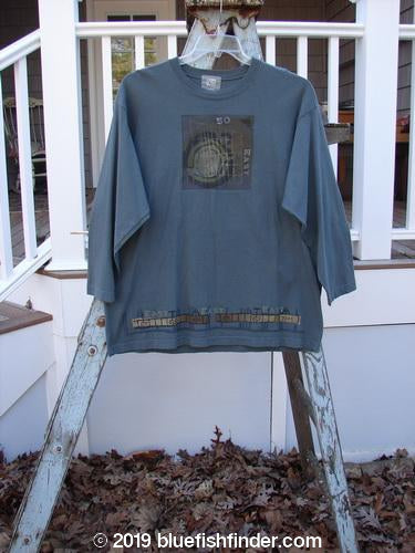 Vintage Blue Fish Clothing 2000 NWT Short Sleeved Tee 50 East Grid Size 1- Bluefishfinder.com