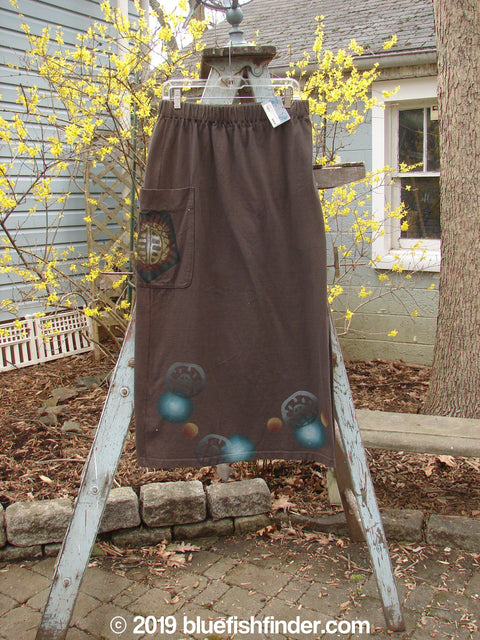 Vintage Blue Fish Clothing 1996 NWT Big Pocket Skirt Moon Molasses Size 1- Bluefishfinder.com