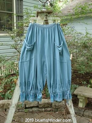 Vintage Blue Fish Clothing Barclay Bloomer Village Teal Size 2- Bluefishfinder.com