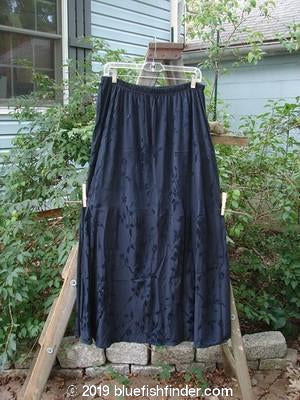 Vintage Blue Fish Clothing Barclay Brocade Willow Skirt Black Size 2- Bluefishfinder.com