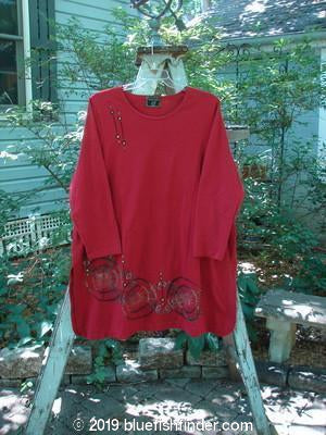 Vintage Blue Fish Clothing Barclay Frenchtown Top Tri Gear Red Size 2- Bluefishfinder.com